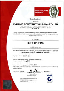 ISO 9001 Quality Management System Certi