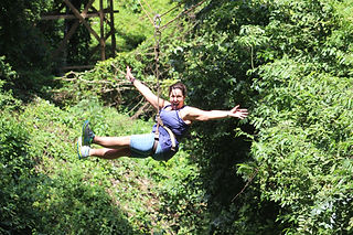 Zipline on Roatan
