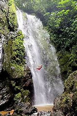 Repel Waterfall in the Osa Peninsula Costa Rica
