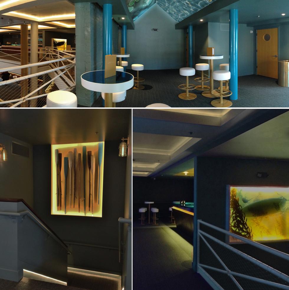 Highland Lounge - Lighting
