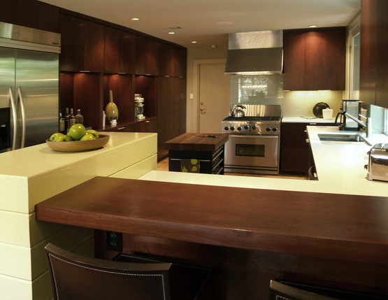 Open, Expanded Kitchen