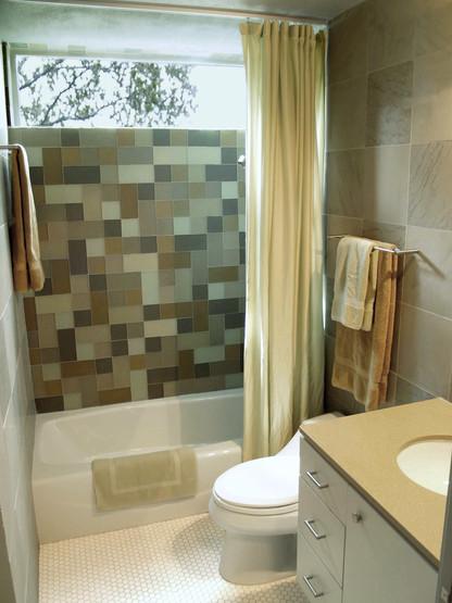 Beach Glass Bathroom
