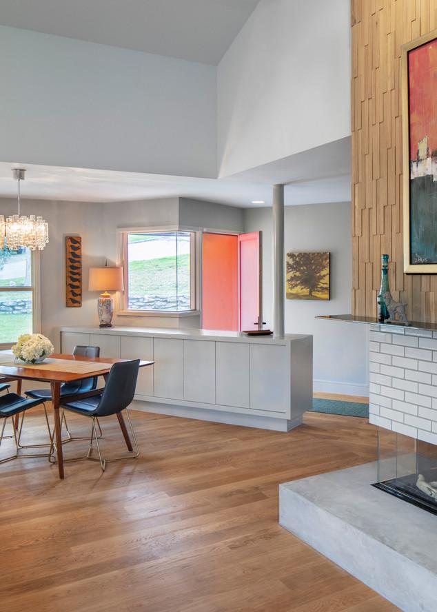 New Foyer & Fireplace