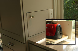 Concealed Toaster Compartment