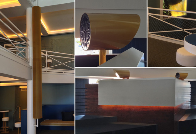 Highland Lounge – Custom Designed Fixtures