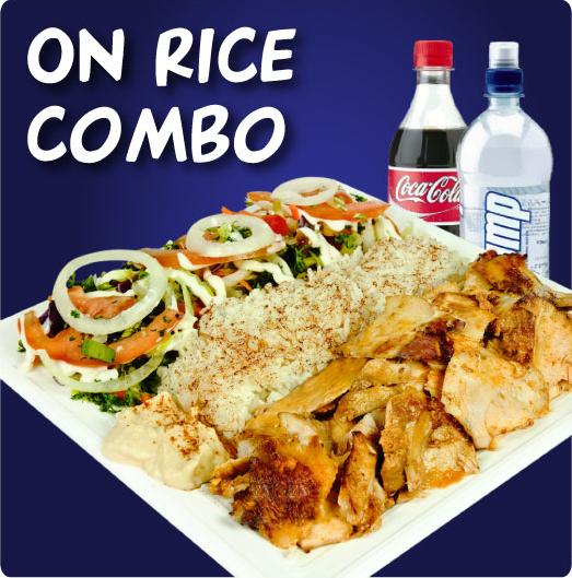 Rice Kebab Combo