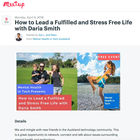 How to Lead a Fulfilled and Stress Free Life with Daria Smith