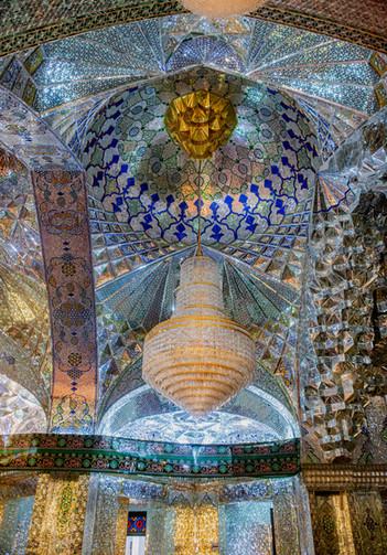 Inside of Shah-e-Cheragh Shrine (King of Light)