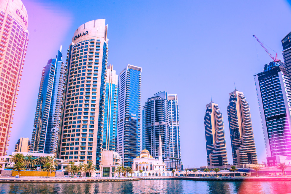 Dubai Marina Mosque