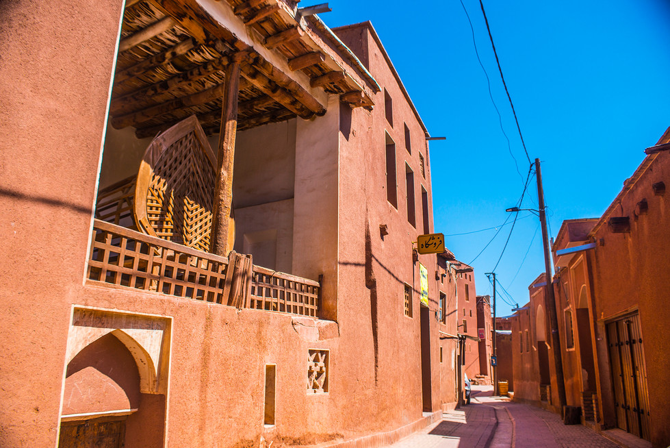 Lunch time at Abyaneh