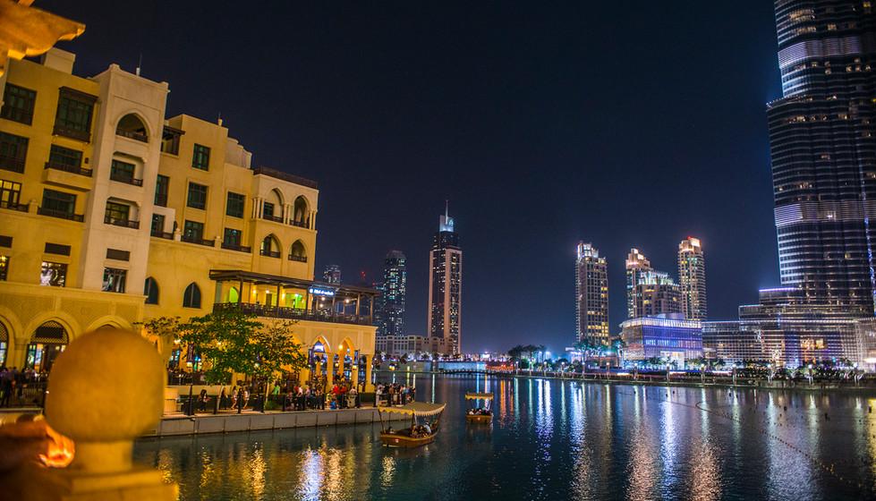 Midnight Waterfront, Burj Khalifa