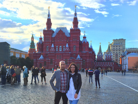 Russian honeymoon