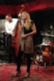 Erin Livingston singin at Jazz Central in Mpls.