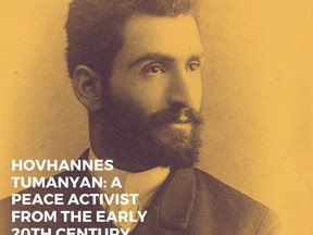 Hovhannes Tumanyan: a peace activist from the early 20th century