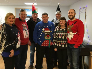 Merry Christmas! Christmas Jumper Day at LBs
