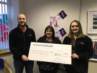Alzheimer Scotland donation