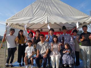 和歌山市 Sさま邸 地鎮祭