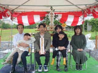 有田川町 Tさま邸 地鎮祭🌻