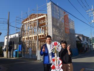 和歌山市 Yさま邸上棟式🎵