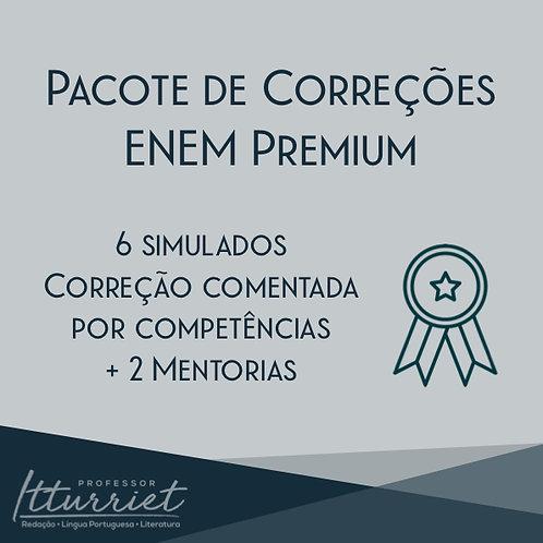 Pacote de Correções de Redação ENEM Premium