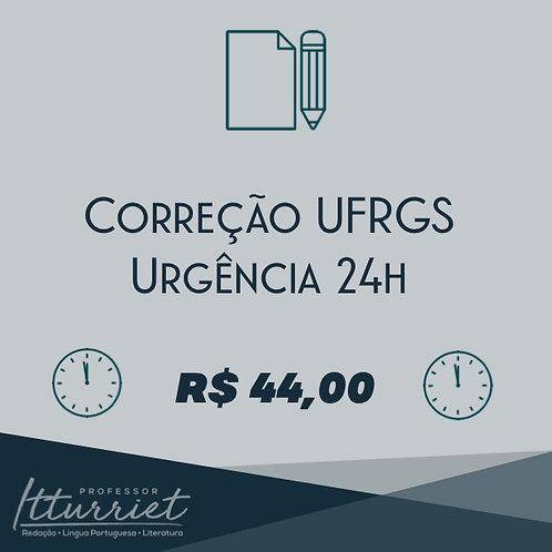 Correção UFRGS Urgência