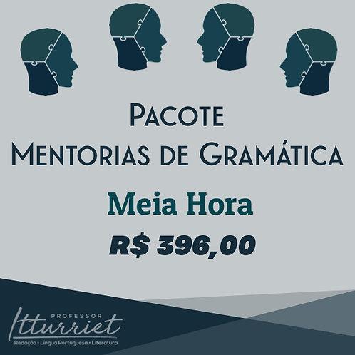 Pacote de Mentorias de Gramática Meia Hora