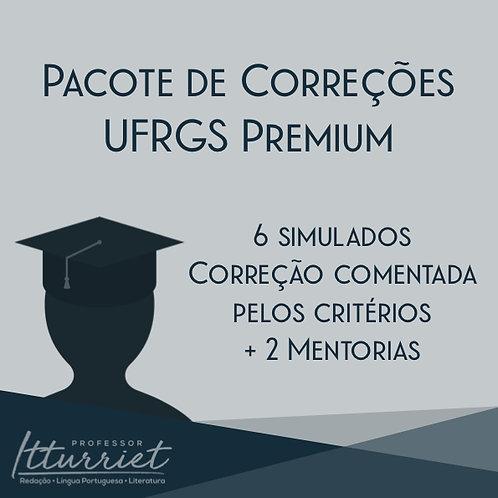 Pacote de Correções de Redação UFRGS Premium