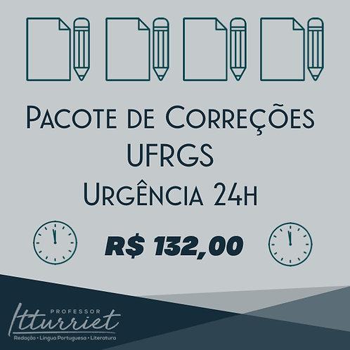Pacote de Correções UFRGS Urgência
