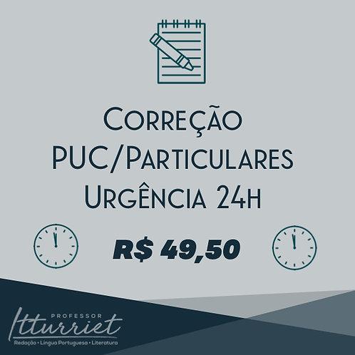 Correção PUC/Particulares Urgência 24h