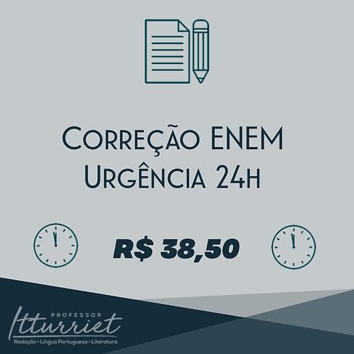 Correção ENEM Urgência 24h