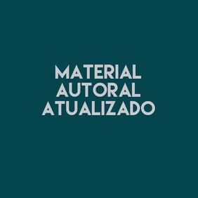 Material Autoral e Atualizado