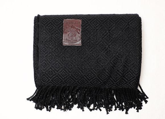 Peruvian Blanket - Black Diamond