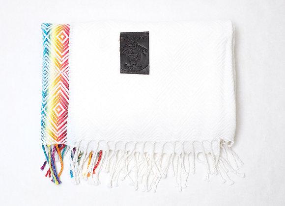 Peruvian Blanket - Rainbow Stripe