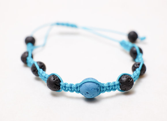 Stone Blue Black Bracelet