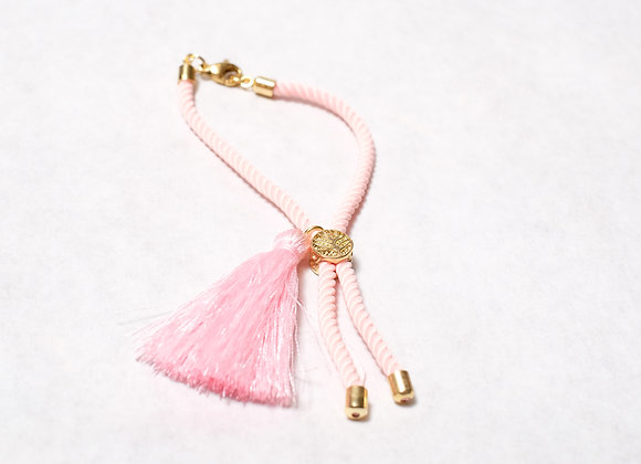Pink Tassel with Clasp
