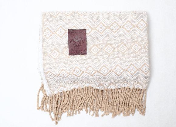 Peruvian Blanket - Lt. Brown Rain