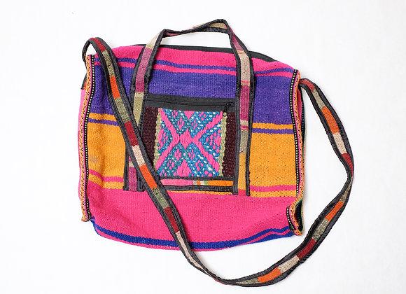 Peruvian Bag - Large Zipper 1 Pocket Tote