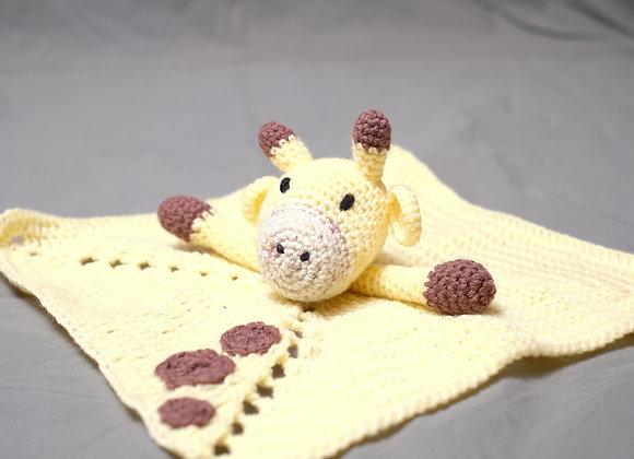 Crocheted Giraffe Lovey