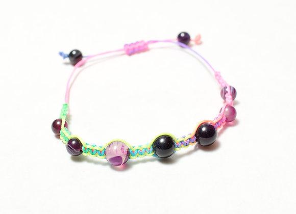 Neon Rainbow Bracelet