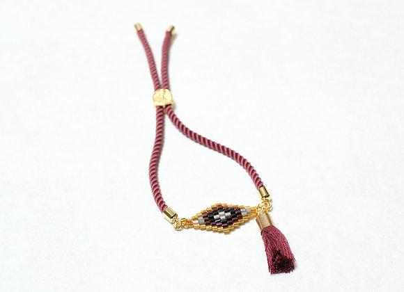 Red Diamond Tassel Bracelet