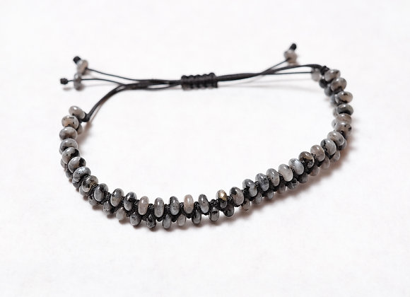 Grey Stoned Bracelet