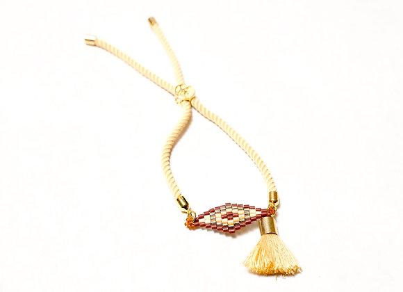Diamond Rope Tassel Bracelet