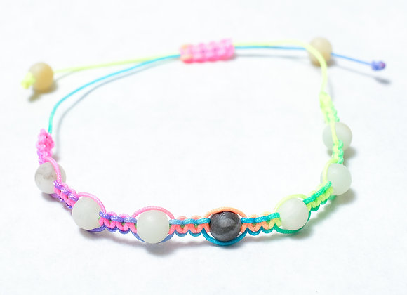 Light Multicolored Neon Bracelet