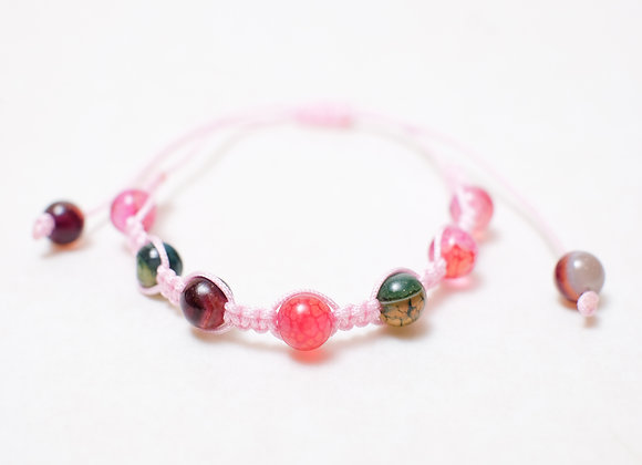 Stone Pink Multicolored Bracelet