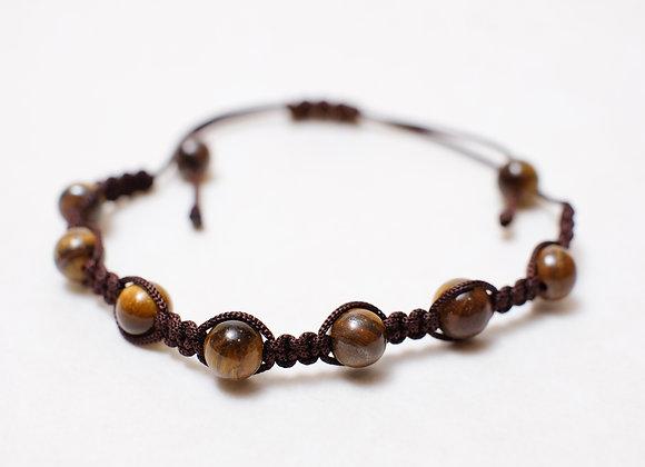 Stone Dark Brown Bracelet