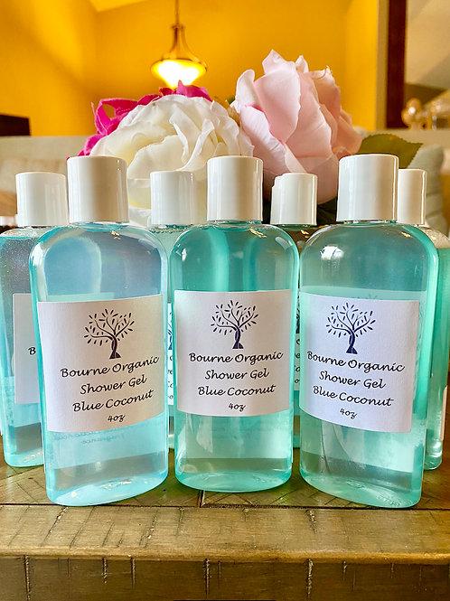 Blue Coconut Shower Gel 4 oz