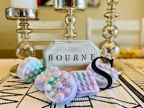 Lavender & Mint Leaf Buttermilk Massage Soap Bars
