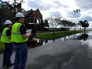Drones help restore power in Jacksonville after Hurricane Irma