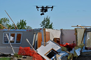 Tornado damage assessed under FAA's Part 107 regulations