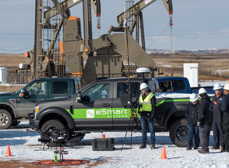 Drone companies team up to service North Dakota oil patch